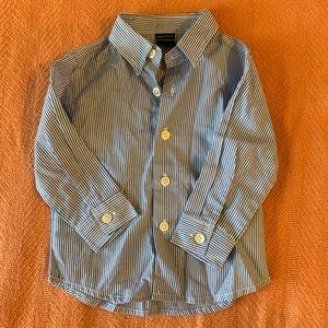 Nautica baby boy dress shirt 12M